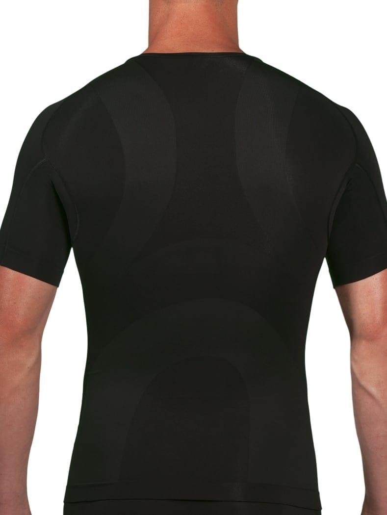3a0e09520d8 Knapman v-hals zwart - Zwart